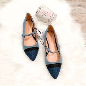 Who What Wear Shoes - NEW Nellie Mary Jane Ballet Flats